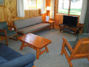 Comfy Cabins with full kitchens & 2, 3, 4 or 5 bedrooms